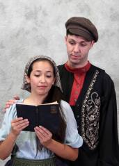 Christie Paz and Richard Portune as Chava and Fyedka