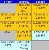 fiddler schedule