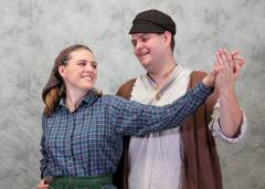 Kate Matheson and Sean Carson-Hull as Hodel and Perchik