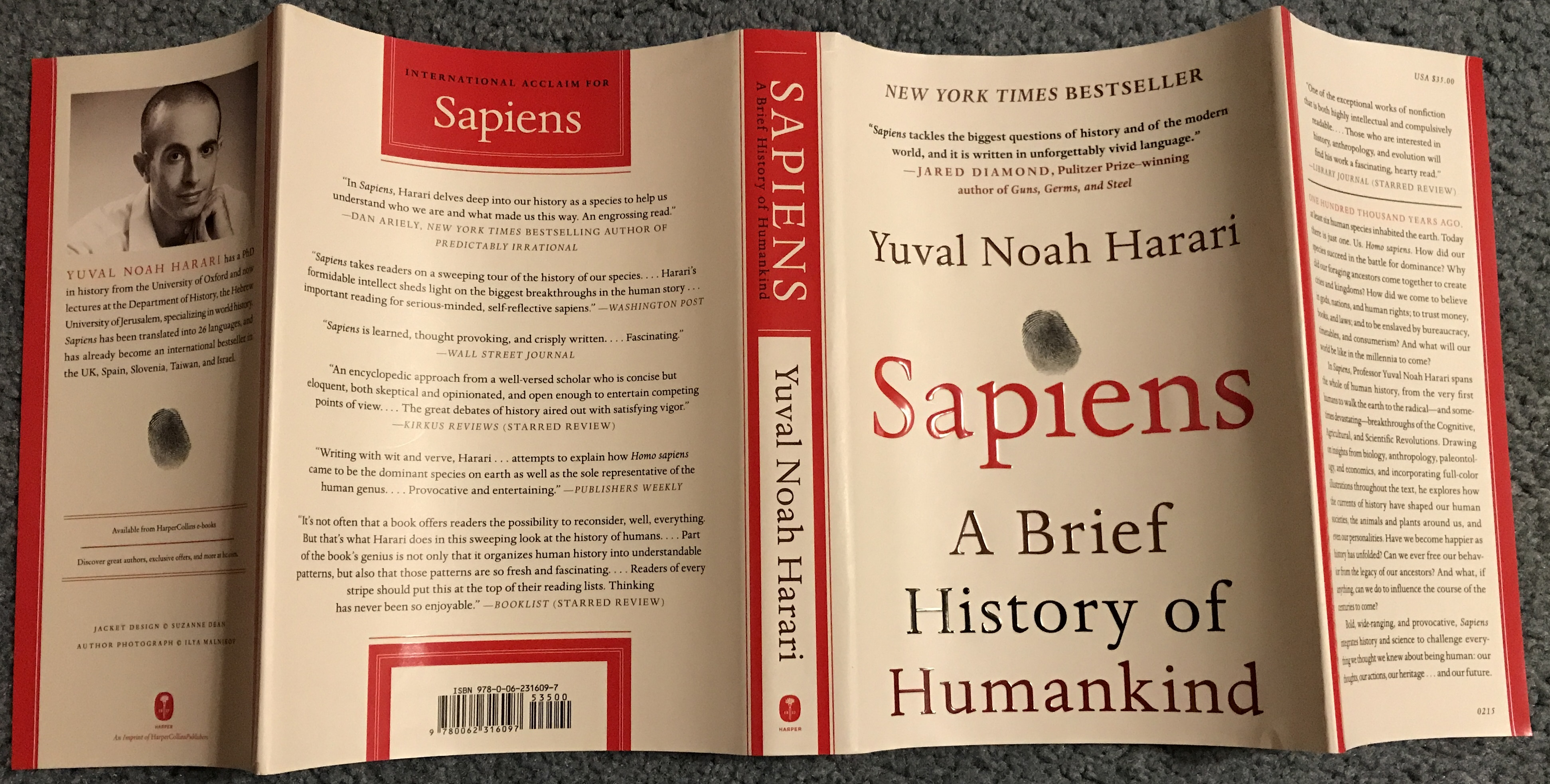 Book Review: 'Sapiens: A Brief History of Humankind' – a